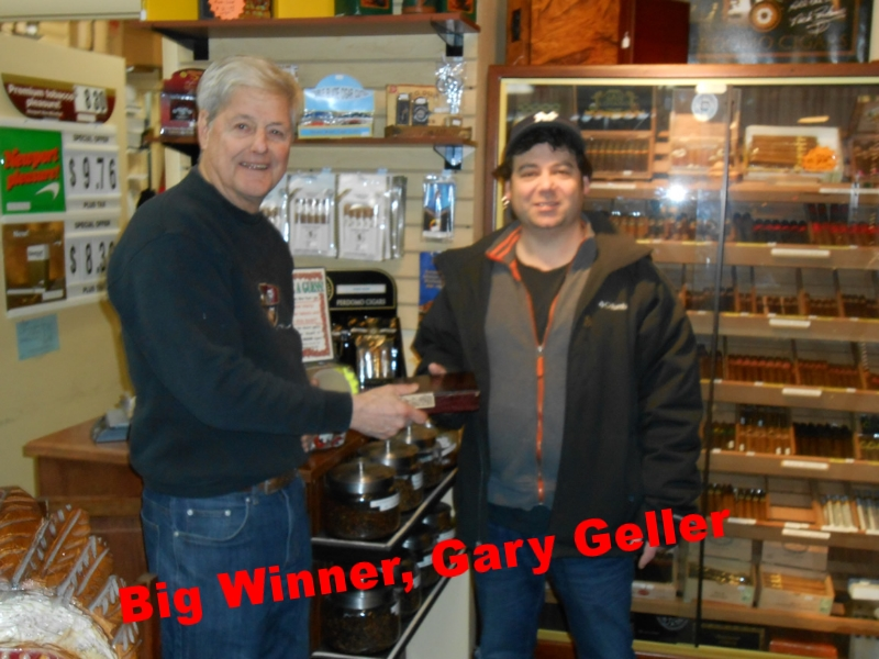 Big Winner, Barry Geller