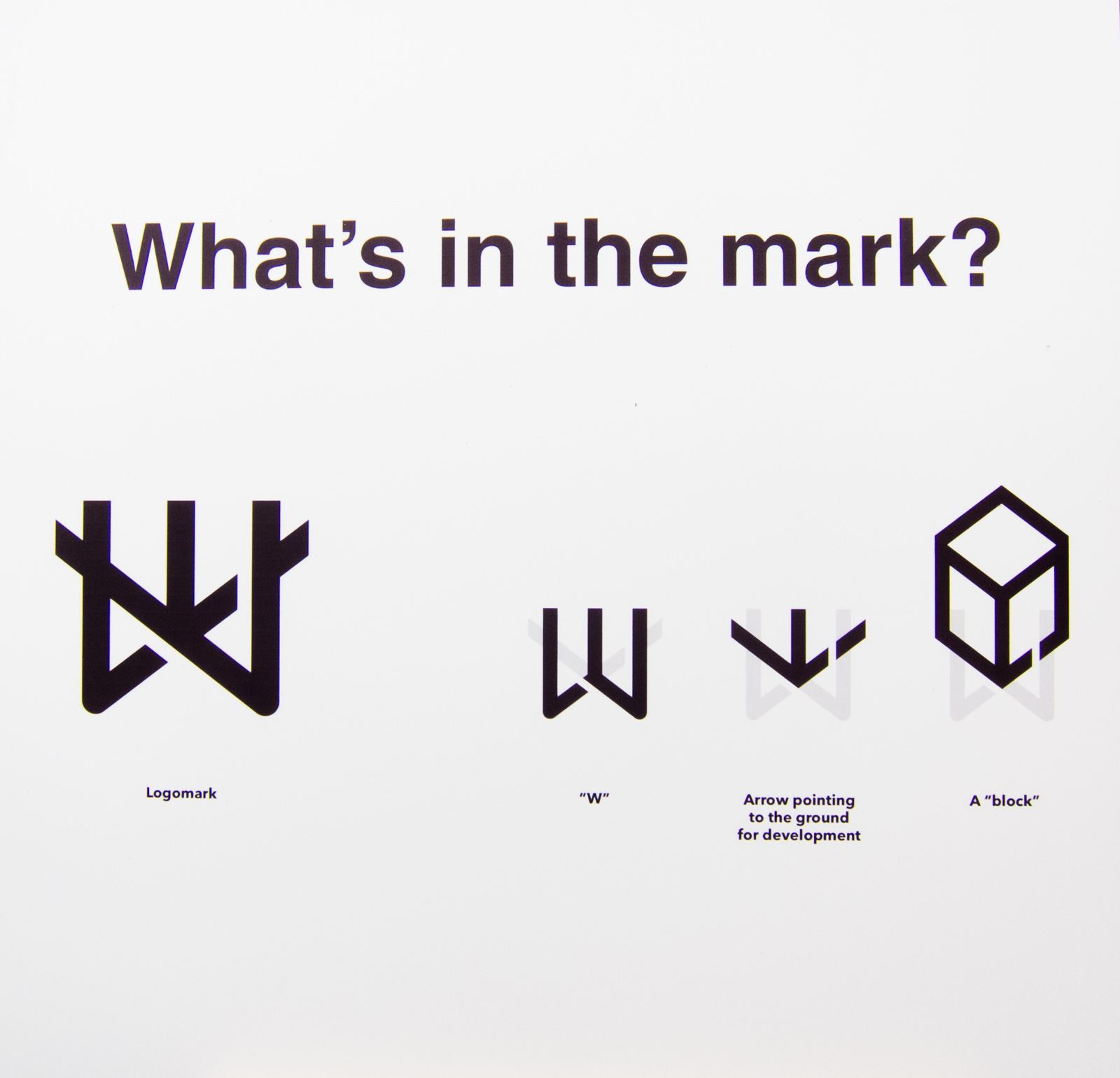 What's in the mark?