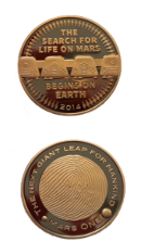 Mars One Buttons