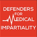 Defenders for Medical Impartiality logo