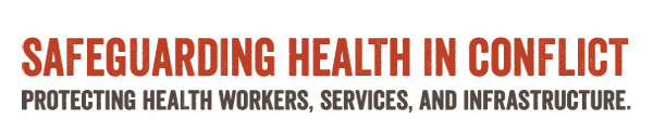 Safeguarding Health in Conflict Coalition logo