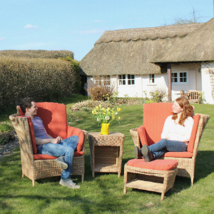 Garden furniture with a difference