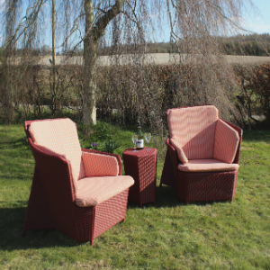 Comfy fairtrade garden furniture