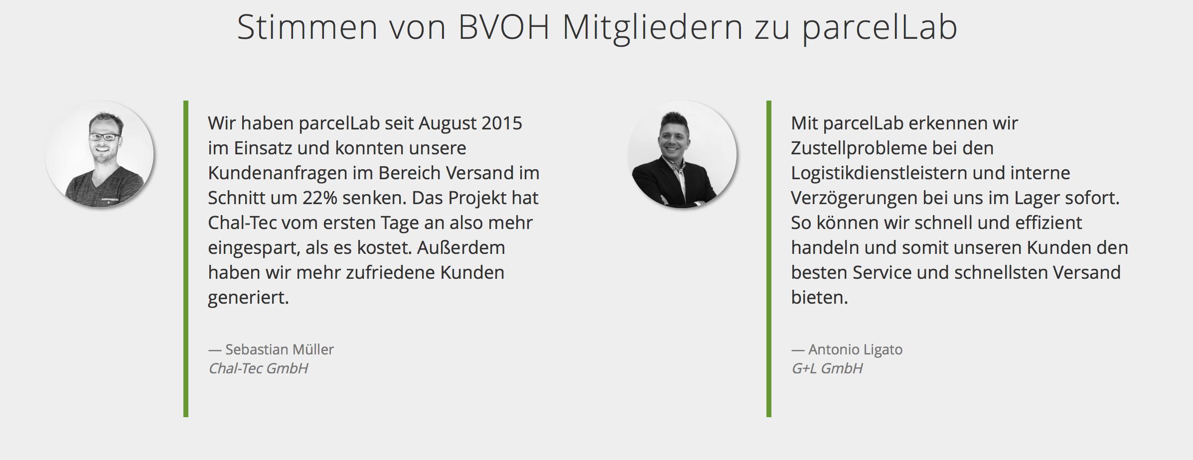 BVOH Paketstudie parcellab