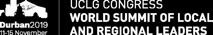 Logo Durban 2019 Congress UCLG