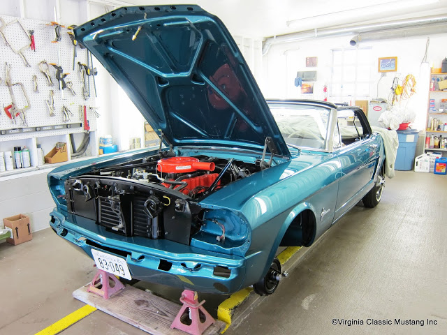 Mustang News and Restoration Tips