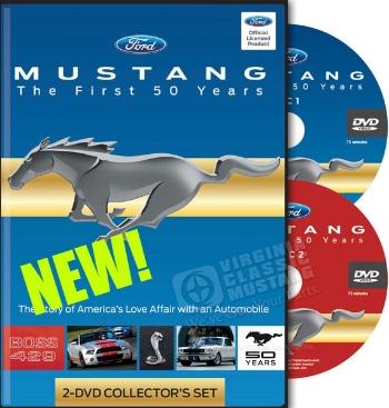 Mustang DVD Set