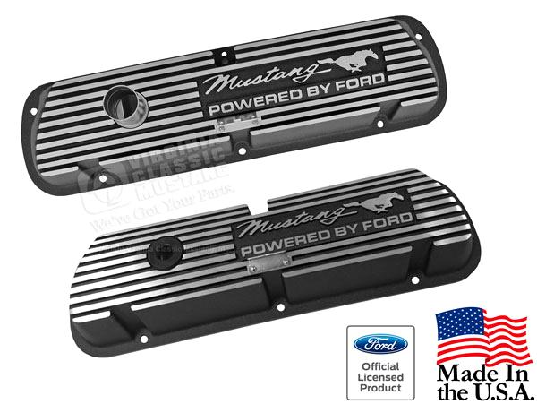 Mustang Aluminum Valve Covers