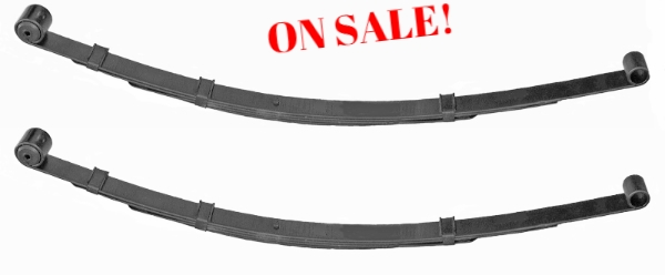 SUPER PRICE on Leaf Springs!