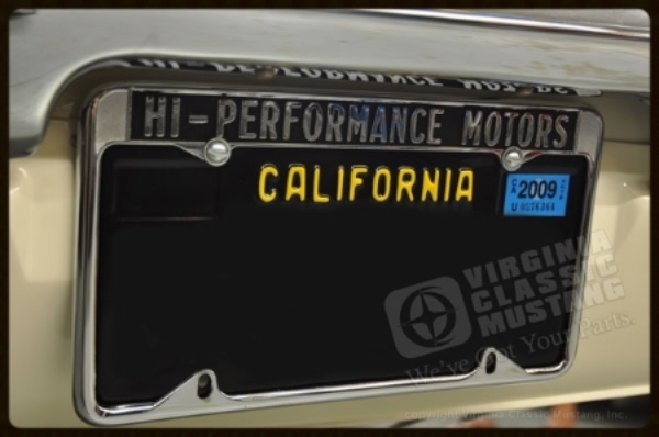 Hi Performance Motors License Plate Frame