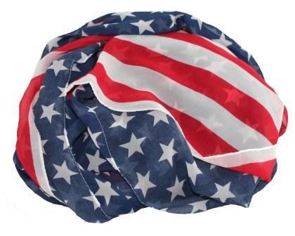 Køb USA tørklæde online hos Smikka