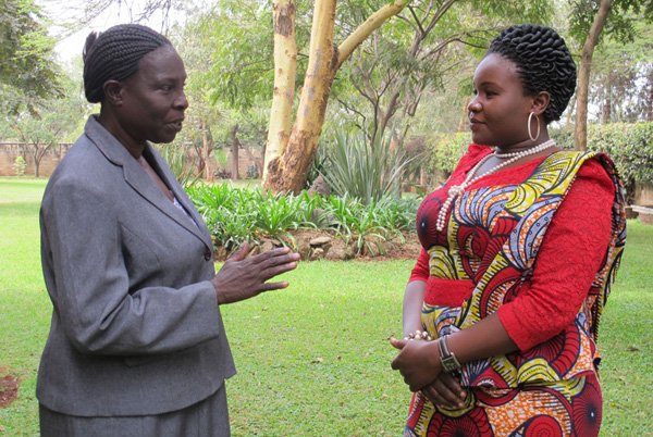 Building Strong Women Leaders in Family Planning through Mentoring {Photo: MSH}