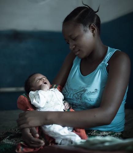 Teaching Birth Attendants to Save Newborn Lives {Photo: Warren Zelman}
