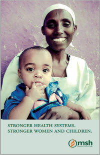 [Stronger health systems. Stronger women and children.]