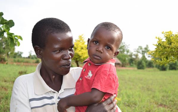 Uganda: Kasifa and her baby. [Photo: MSH staff]