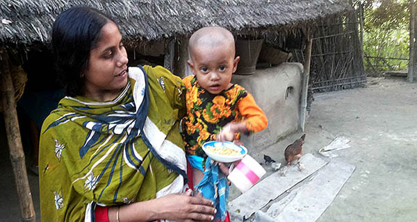 Anika's Story: Intensified Case Finding of Pediatric TB in Bangladesh [Photo: Francis Hajong/MSH]