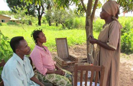 """Community-Based Distributors of Family Planning:  """"Mother who takes care of birth spacing"""""""