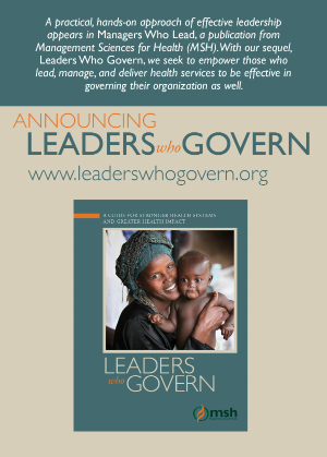 Leaders Who Govern (coming soon)
