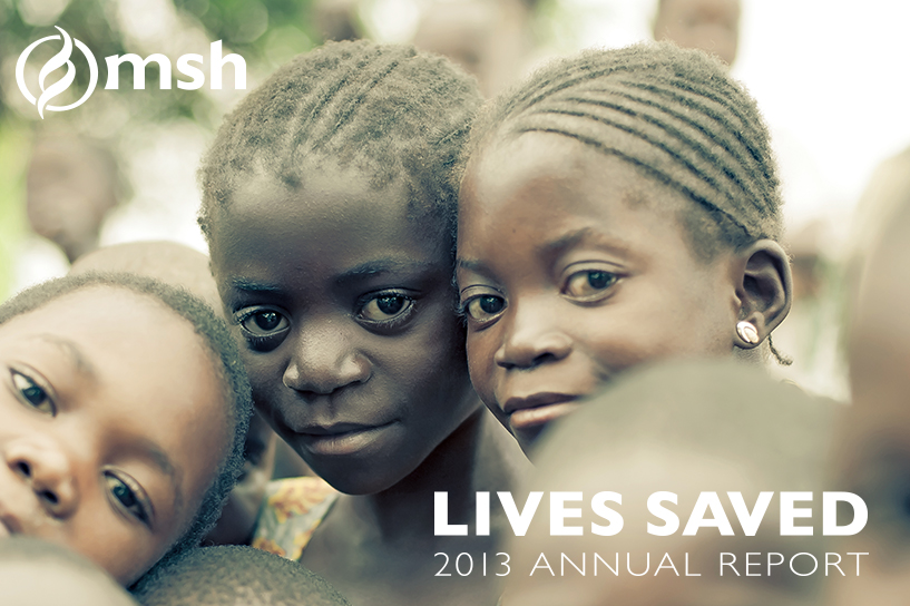 [Lives Saved: 2013 Annual Report.]