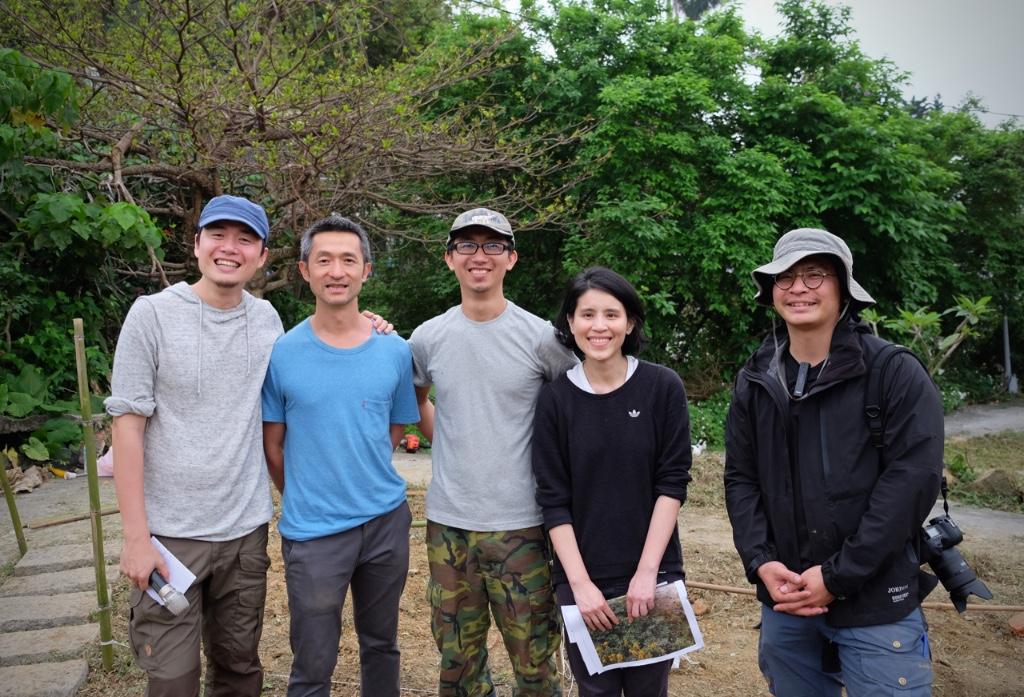 策劃團隊 左起:林鼎傑、鄭波、李明鋒、王文心、余泓緯