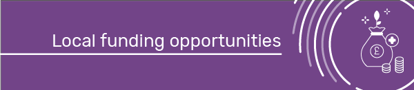Local funding opportunities