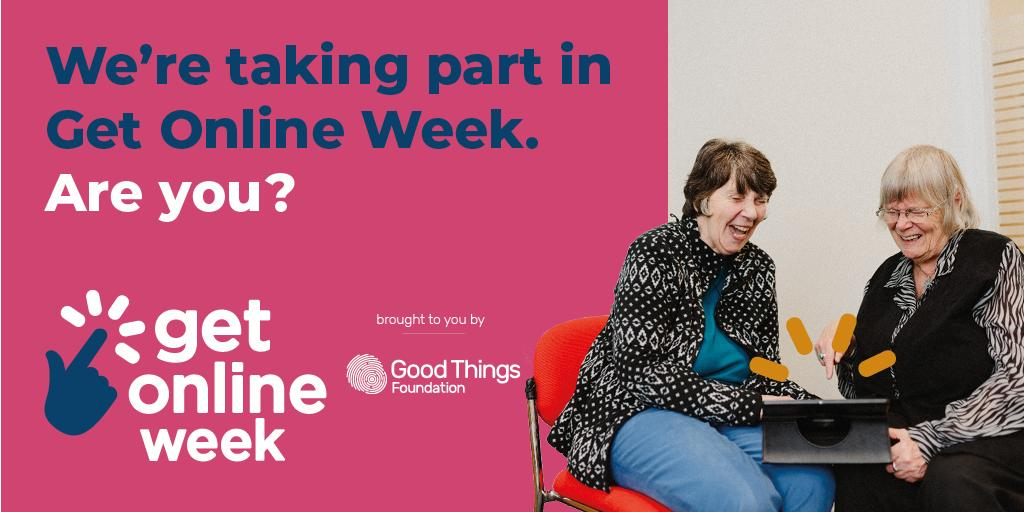 We're taking part in Get Online Week. Are you?