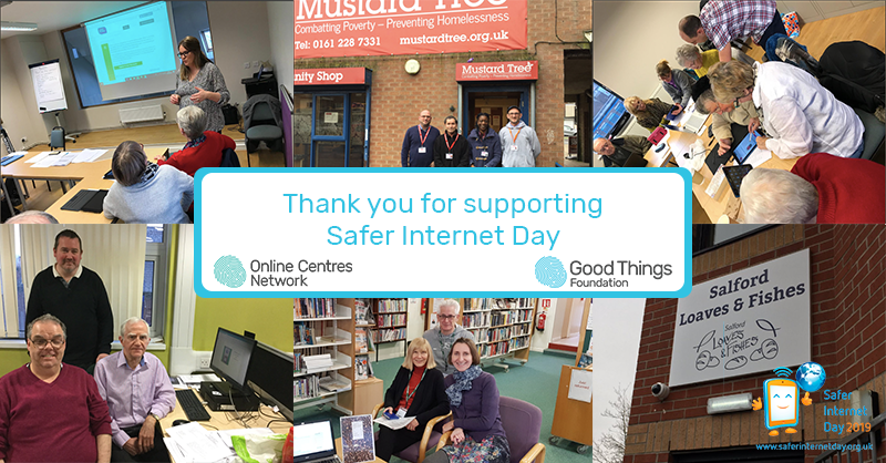 Thank you for supporting Safer Internet Day