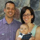 Mark, Jenny and Luke Yoder
