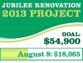 Jubilee Renovation Update