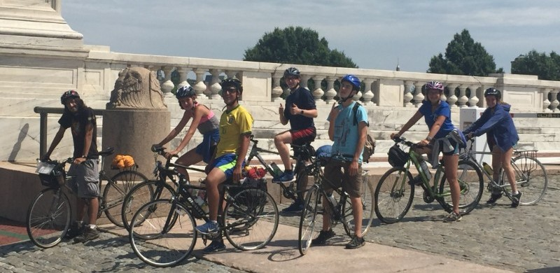 Teen Bike Camp - Ready to hit the road