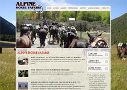Alpine Horse