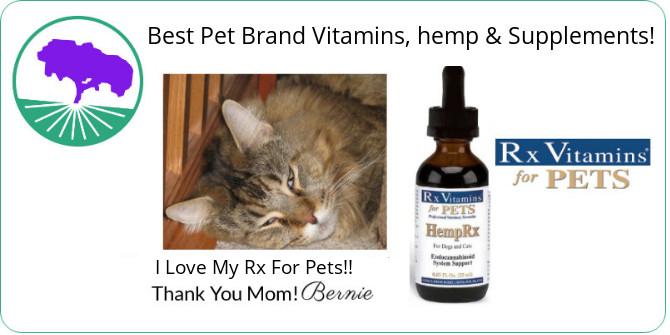 Rx Vitamins Pets HempRx CBD Oil