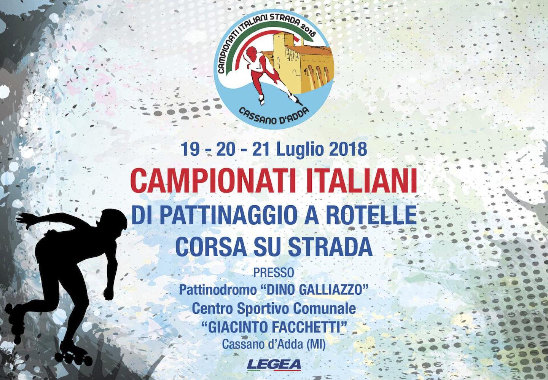 Campionato Italiano Corsa su Strada - categorie R/A/J/S – F/M: programma eventi