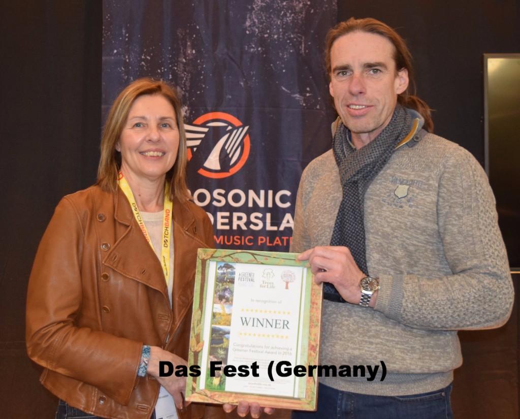 Teresa Moore presents Das Fest Award
