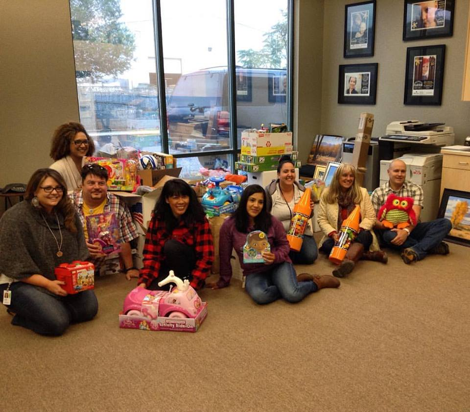 Intuit Toy Drive Donation