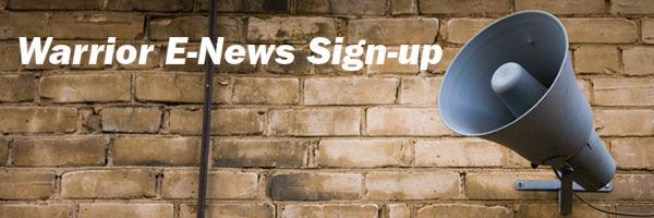 Subscribe to Warrior E-news