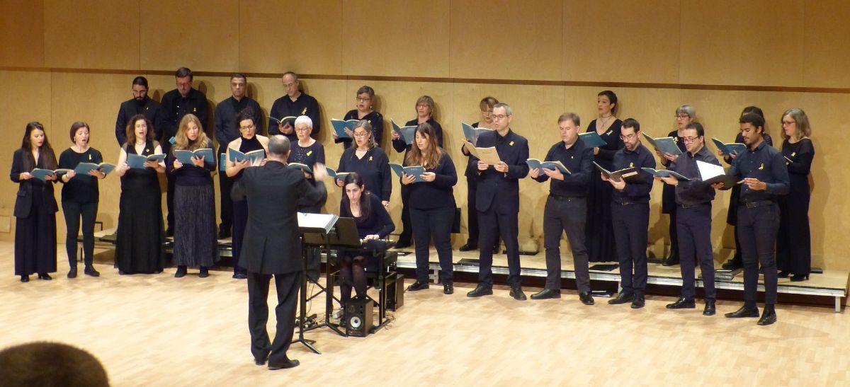 """Un imatge del concert de """"Bach, Música i Paraula"""" a Terrassa"""
