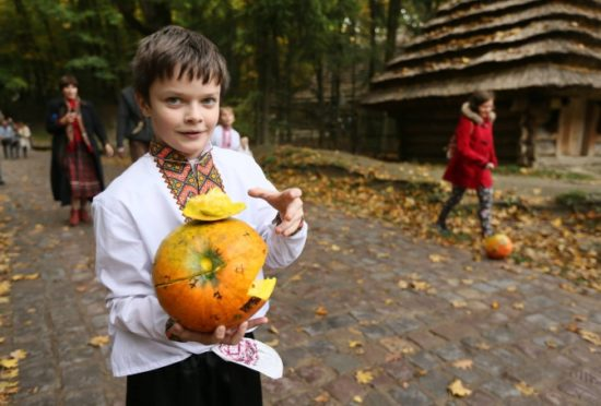 Pumpkin Day in Lviv
