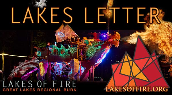 Lakes Letter - Lakes of Fire, Great Lakes Regional Burn