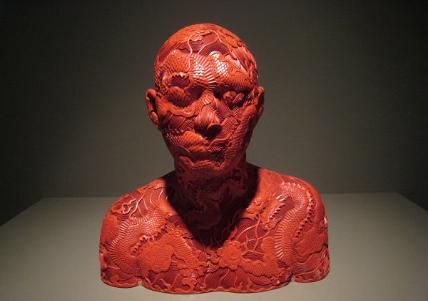 Human Human-Dragon, Cool ceramics, Ah Xian
