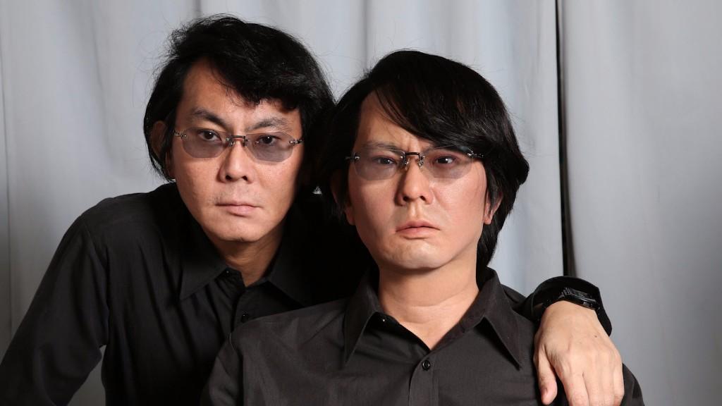 Professeur Hiroshi Ishiguro et son sosie robotisé, Hiroshi Ishiguro