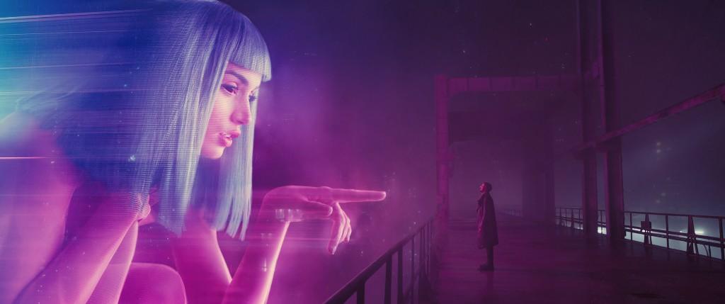 Hologrammes commerciaux, 2017, Blade Runner 2042