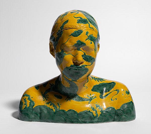 China, China – bustes 16, Porcelaine, Ah Xian