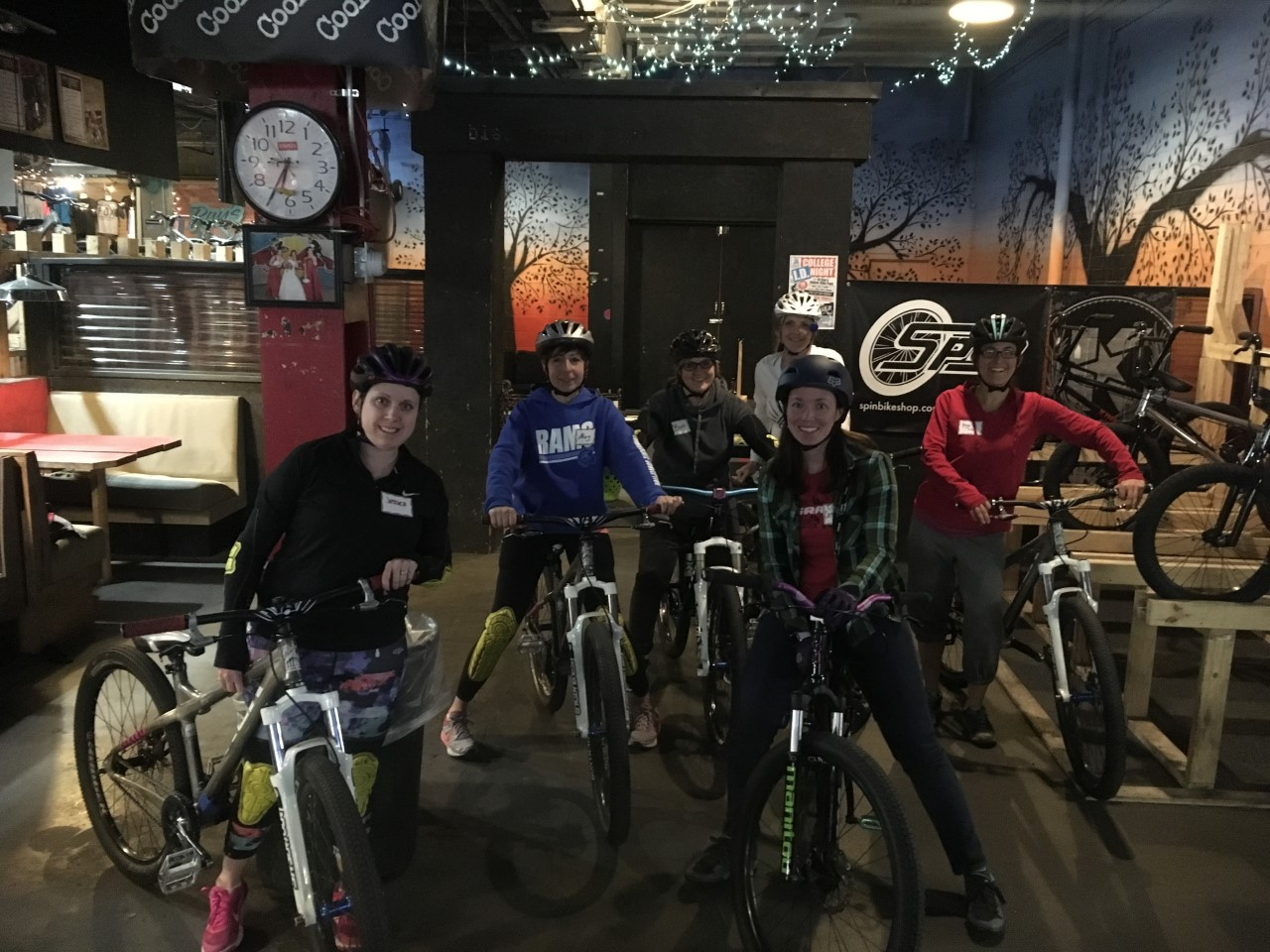 Ladies ride @ Ray's Indoor Bike Park, Cleveland | Feb, 2019