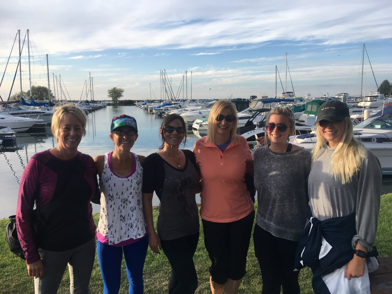 Ladies Adventure Group sunset sailors @ Lake Erie, Cleveland | Sept 24, 2019