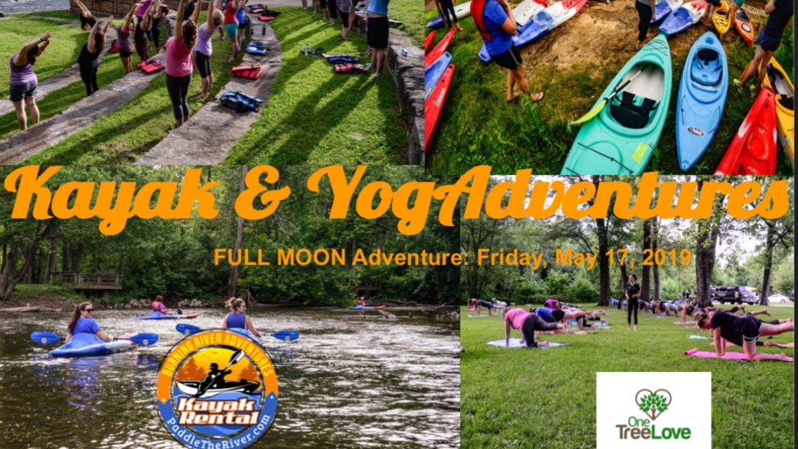 Full moon kayak & yogAdventures