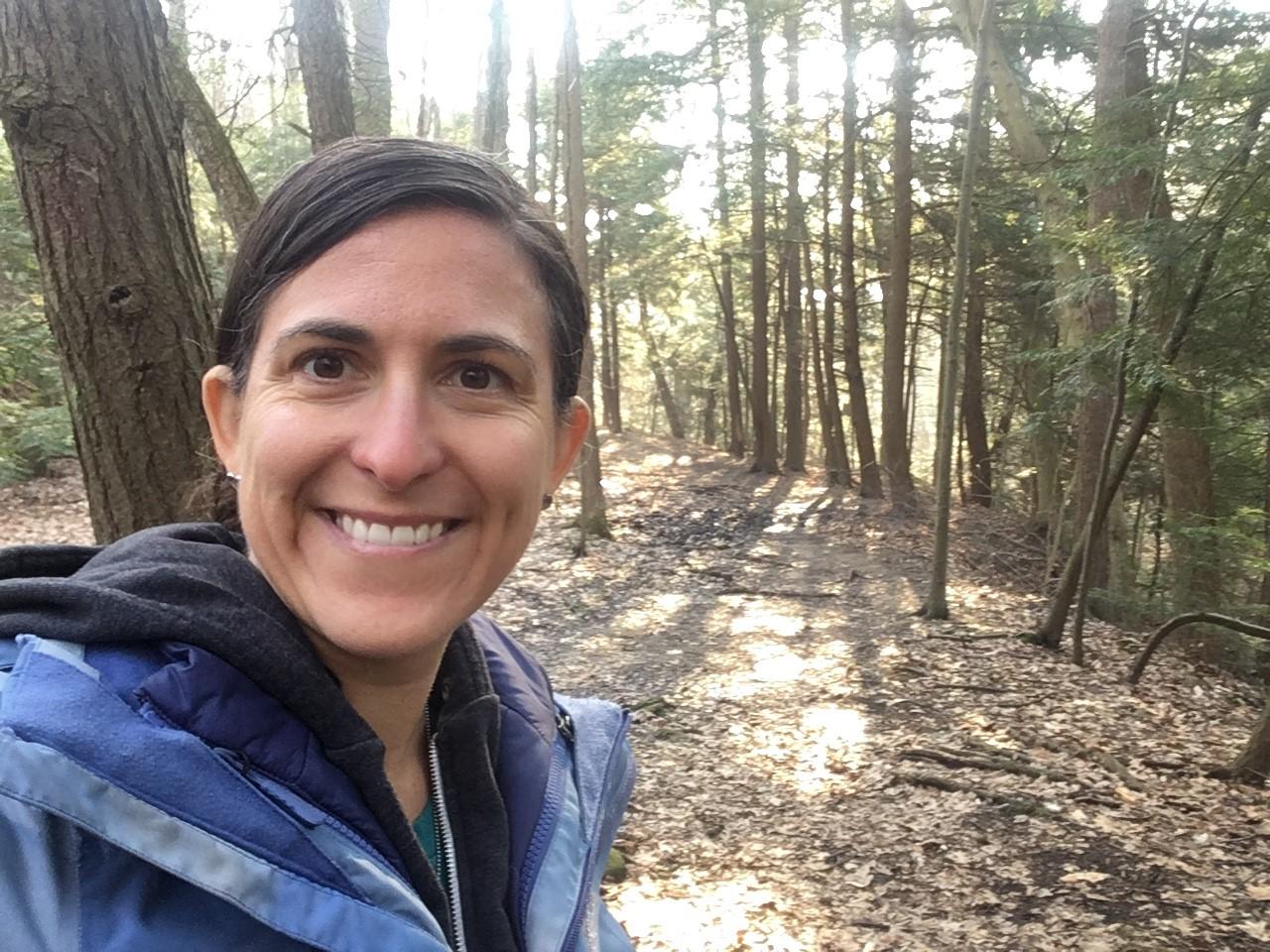 Lisa @ Wild & Scenic River in PR, Feb 2019