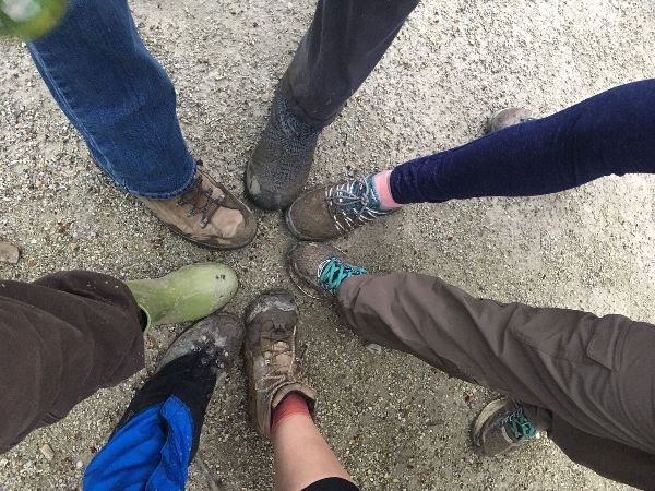 NEO LAG hikers @ Hampton Hills Metro Parks   April 2019