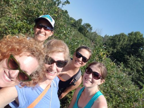Hike YogAdventure at Greenfield Berry Farm | Aug 2019