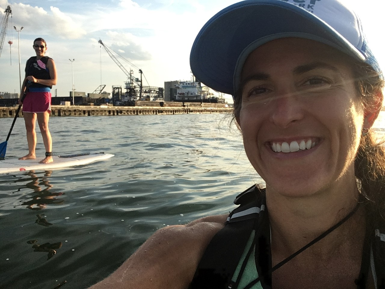 Lisa SUPing around Cleveland, Oct 1, 2019